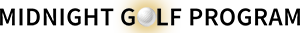 Midnight Golf Program Sticky Logo