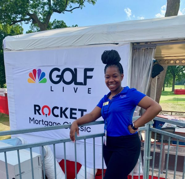 Sydney Donaldson at the Rocket Mortgage Classic