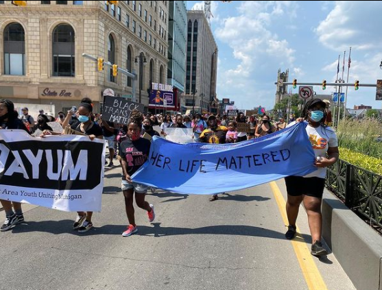 Say Her Name protest, June 20, 2020